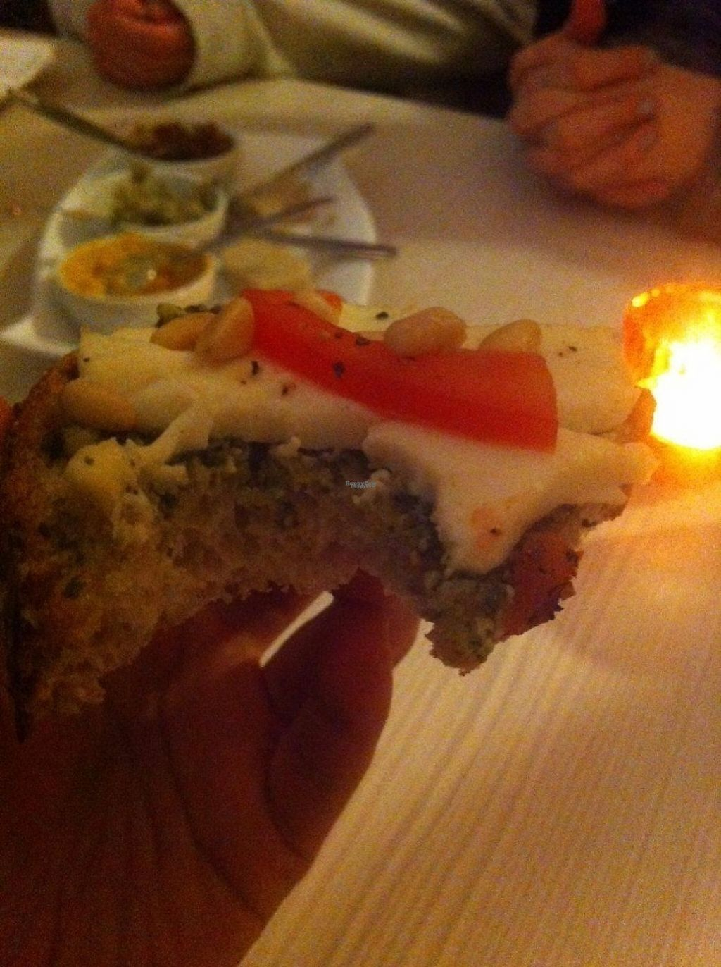 """Photo of Daantje  by <a href=""""/members/profile/Sternanis"""">Sternanis</a> <br/>Bruschetta. Tasty with pesto & homemade mozzarella! <br/> January 10, 2017  - <a href='/contact/abuse/image/58152/210513'>Report</a>"""