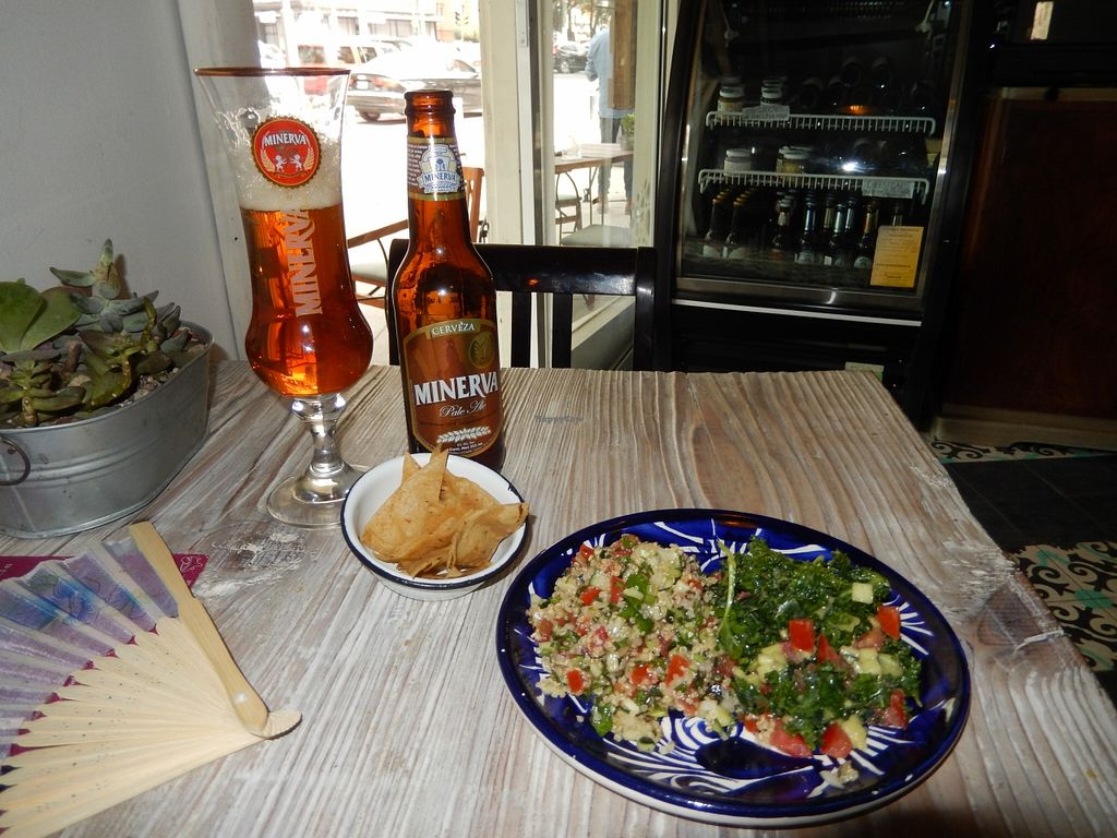 "Photo of Temictli - Hipodromo  by <a href=""/members/profile/CLRtraveller"">CLRtraveller</a> <br/>artisanal beer and complimentary salads <br/> May 1, 2016  - <a href='/contact/abuse/image/58187/146956'>Report</a>"
