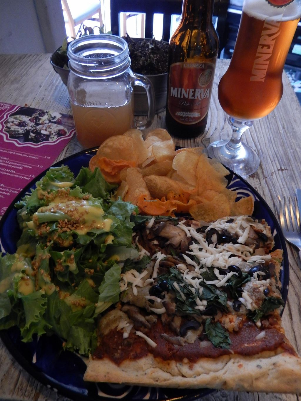 "Photo of Temictli - Hipodromo  by <a href=""/members/profile/CLRtraveller"">CLRtraveller</a> <br/>pizza combo meal (special of the day) <br/> May 1, 2016  - <a href='/contact/abuse/image/58187/146959'>Report</a>"