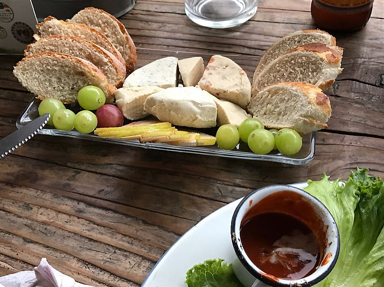 "Photo of Temictli - Hipodromo  by <a href=""/members/profile/LaylaLm"">LaylaLm</a> <br/>vegan cheese table  <br/> July 3, 2017  - <a href='/contact/abuse/image/58187/276187'>Report</a>"