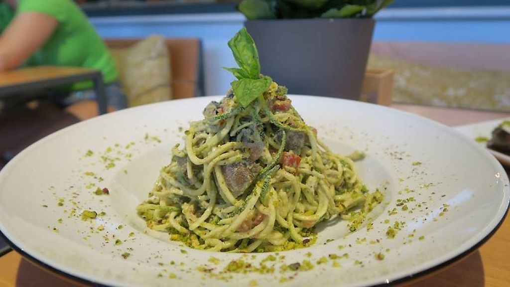 """Photo of Yi  by <a href=""""/members/profile/blueheart"""">blueheart</a> <br/>raw zuchinni pasta  <br/> January 24, 2017  - <a href='/contact/abuse/image/58217/216050'>Report</a>"""