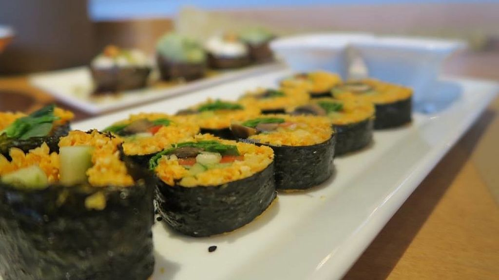 """Photo of Yi  by <a href=""""/members/profile/blueheart"""">blueheart</a> <br/>raw vegan sushi  <br/> January 24, 2017  - <a href='/contact/abuse/image/58217/216051'>Report</a>"""