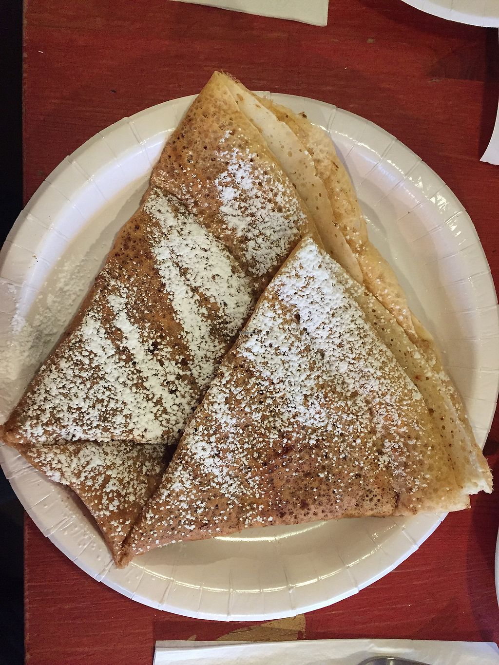 "Photo of Eldur og Is - Fire and Ice  by <a href=""/members/profile/AnniR"">AnniR</a> <br/>Vegan Crepe with banana filling, cinnamon & sugar on top <br/> January 17, 2018  - <a href='/contact/abuse/image/58227/347588'>Report</a>"