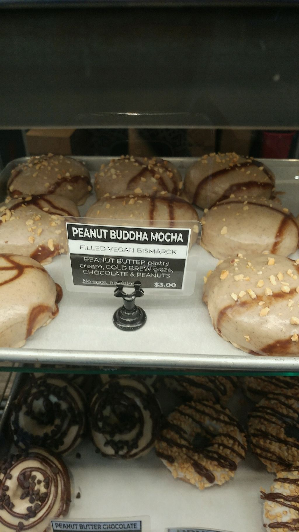 "Photo of Guru Donuts  by <a href=""/members/profile/krimaro"">krimaro</a> <br/>Peanut Buddah Mocha  <br/> April 8, 2018  - <a href='/contact/abuse/image/58232/382362'>Report</a>"