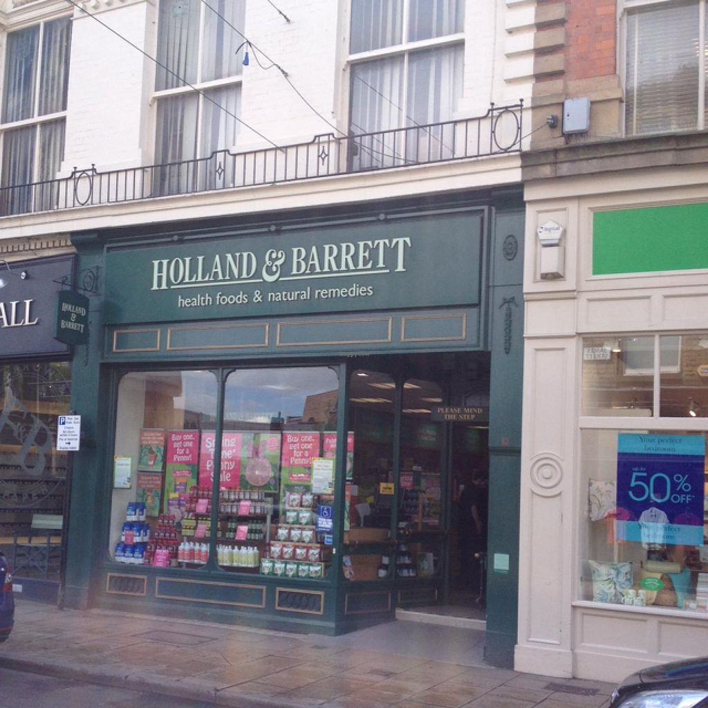 """Photo of Holland and Barrett  by <a href=""""/members/profile/hack_man"""">hack_man</a> <br/>outside  <br/> May 13, 2015  - <a href='/contact/abuse/image/58241/102075'>Report</a>"""