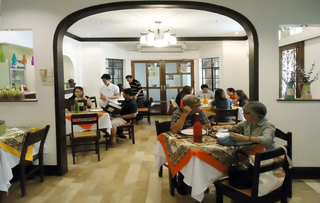 """Photo of Planet Vegis - Emilio Osmena  by <a href=""""/members/profile/RobertLim"""">RobertLim</a> <br/>Dinning area 1 <br/> June 3, 2015  - <a href='/contact/abuse/image/58252/104683'>Report</a>"""