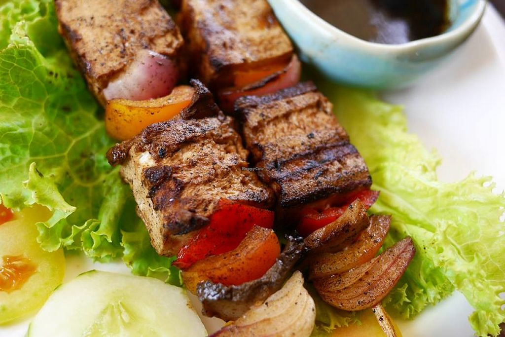 """Photo of Planet Vegis - Emilio Osmena  by <a href=""""/members/profile/RobertLim"""">RobertLim</a> <br/>Vegetarian Kebab <br/> June 28, 2016  - <a href='/contact/abuse/image/58252/156577'>Report</a>"""