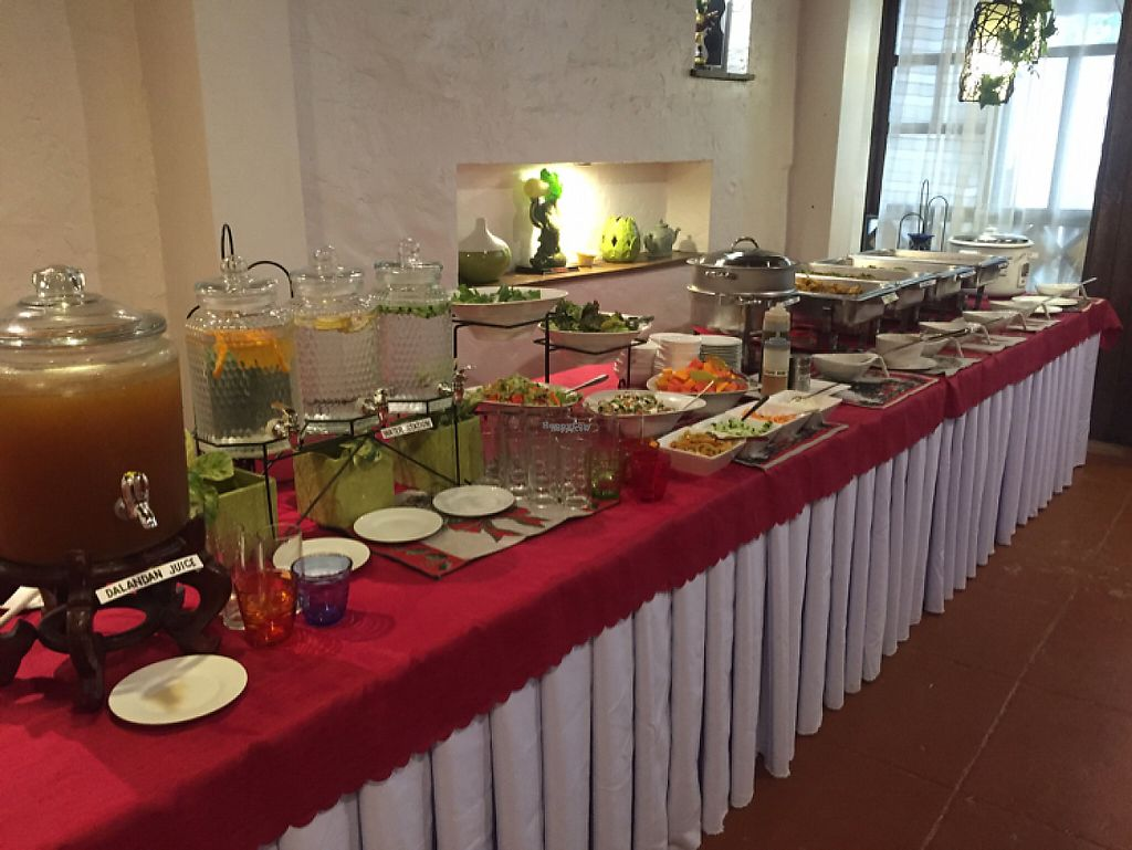 """Photo of Planet Vegis - Emilio Osmena  by <a href=""""/members/profile/meldydoody"""">meldydoody</a> <br/>buffet set up <br/> December 10, 2016  - <a href='/contact/abuse/image/58252/198844'>Report</a>"""