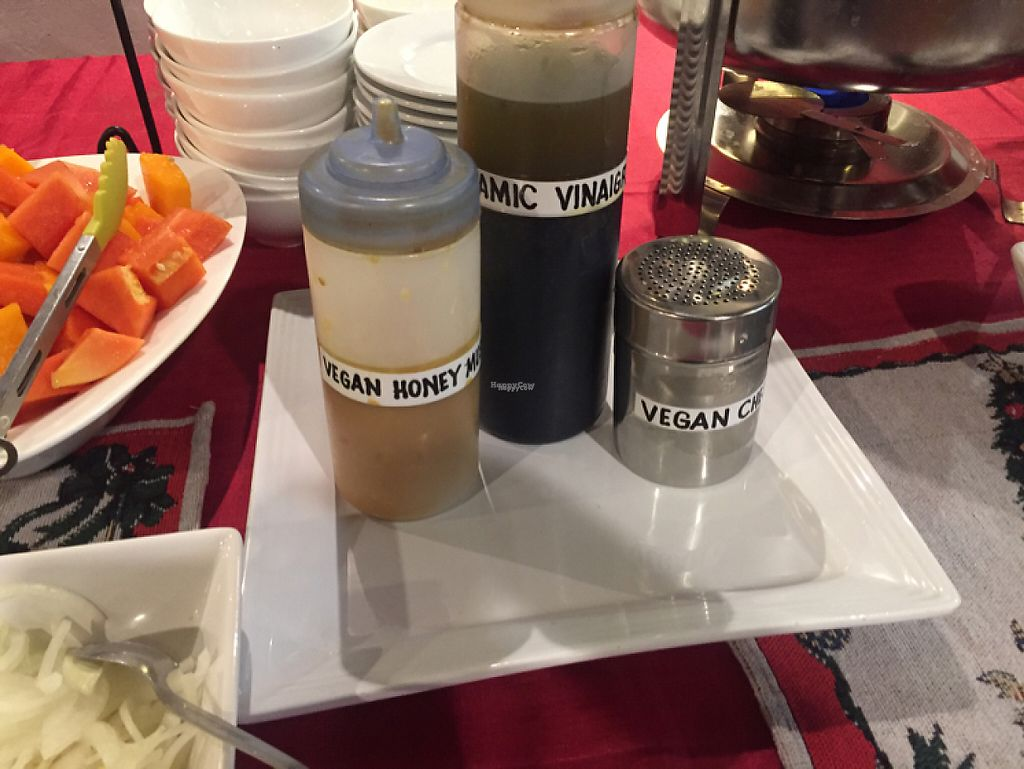 """Photo of Planet Vegis - Emilio Osmena  by <a href=""""/members/profile/meldydoody"""">meldydoody</a> <br/>vegan dressing <br/> December 10, 2016  - <a href='/contact/abuse/image/58252/198845'>Report</a>"""