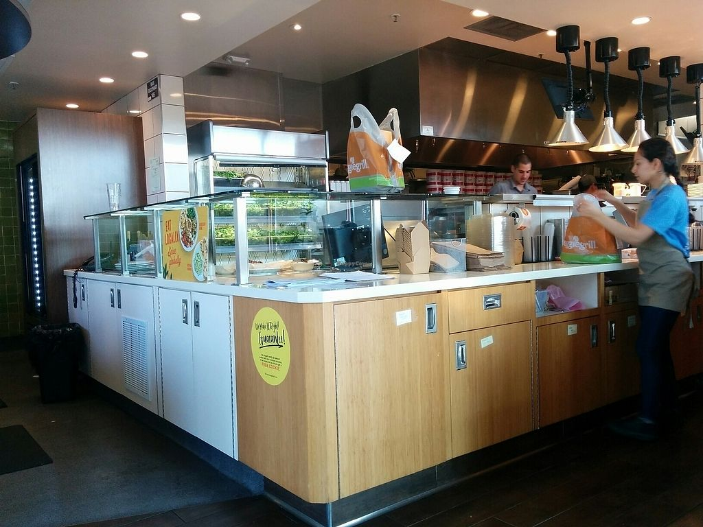 """Photo of Veggie Grill - Westgate Shopping Center  by <a href=""""/members/profile/MizzB"""">MizzB</a> <br/>order prep area <br/> August 11, 2017  - <a href='/contact/abuse/image/58253/291400'>Report</a>"""