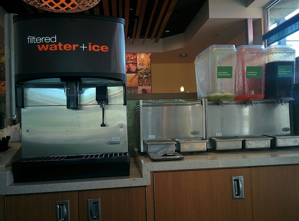 """Photo of Veggie Grill - Westgate Shopping Center  by <a href=""""/members/profile/MizzB"""">MizzB</a> <br/>fountain drink area <br/> August 11, 2017  - <a href='/contact/abuse/image/58253/291401'>Report</a>"""