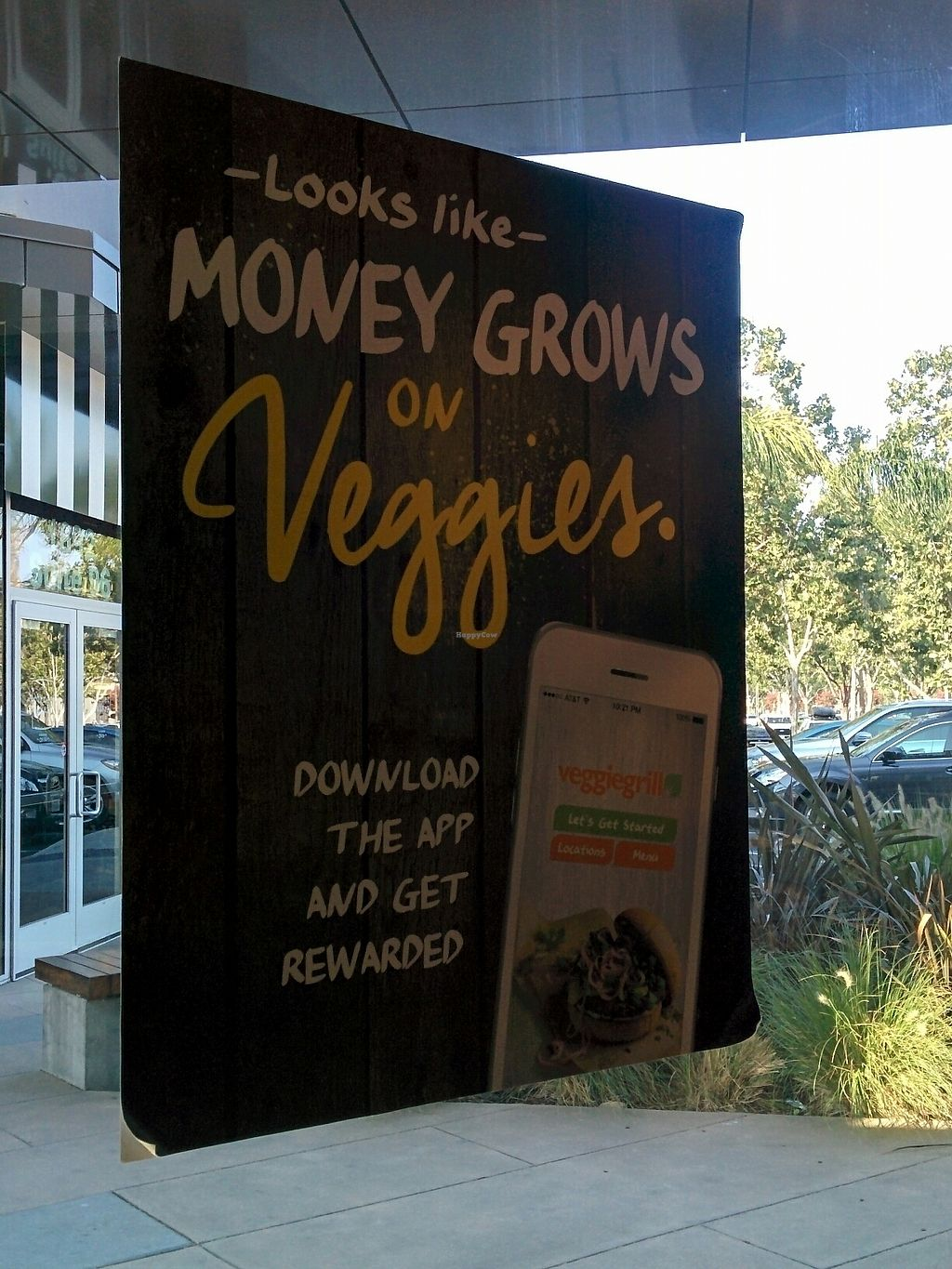 """Photo of Veggie Grill - Westgate Shopping Center  by <a href=""""/members/profile/MizzB"""">MizzB</a> <br/>get the app - money grows on veggies <br/> August 11, 2017  - <a href='/contact/abuse/image/58253/291402'>Report</a>"""