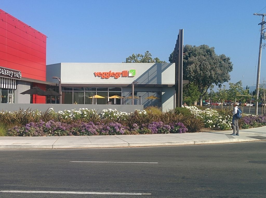 """Photo of Veggie Grill - Westgate Shopping Center  by <a href=""""/members/profile/MizzB"""">MizzB</a> <br/>easy to spot from road; challenge is getting into the parking lot from busy intersection <br/> August 11, 2017  - <a href='/contact/abuse/image/58253/291405'>Report</a>"""