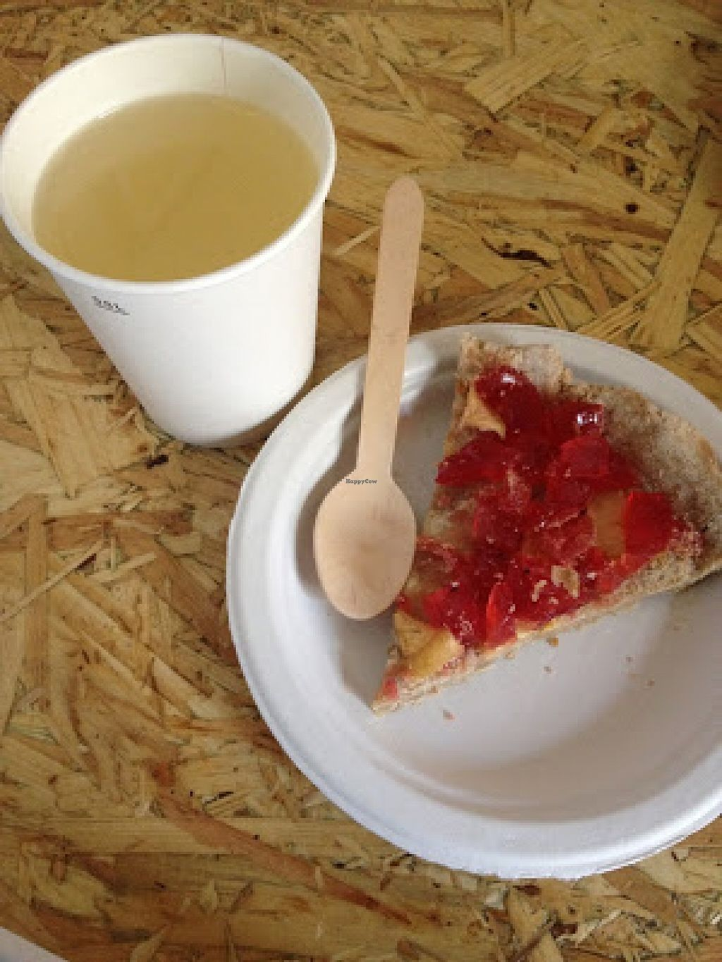 """Photo of CLOSED: Veganski Bar  by <a href=""""/members/profile/jojoinbrighton"""">jojoinbrighton</a> <br/>'Fresh Fruit Tart'!! <br/> August 31, 2015  - <a href='/contact/abuse/image/58255/115913'>Report</a>"""