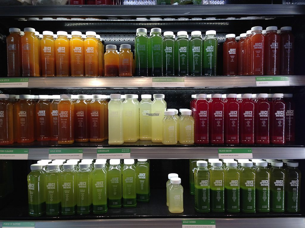 "Photo of Juice Brothers - Van Woustraat  by <a href=""/members/profile/Domsy"">Domsy</a> <br/>Plenty of juices to choose from! Ask about their juice cleanse specials <br/> December 21, 2016  - <a href='/contact/abuse/image/58258/203555'>Report</a>"