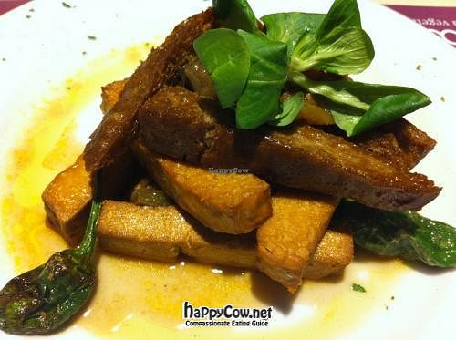 """Photo of Baobab  by <a href=""""/members/profile/Nihacc"""">Nihacc</a> <br/>Veggie protein: tofu, seitan and tempeh with pisto <br/> April 19, 2012  - <a href='/contact/abuse/image/5826/30724'>Report</a>"""