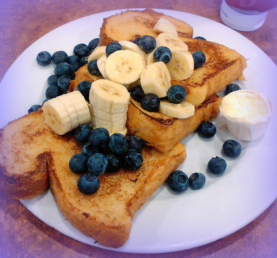 "Photo of Maywood Pancake House  by <a href=""/members/profile/V%CE%B5G%CE%9B%E2%98%A5G%CE%9BL"">VεGΛ☥GΛL</a> <br/>Customize vegan french toast <br/> February 13, 2018  - <a href='/contact/abuse/image/58273/358656'>Report</a>"