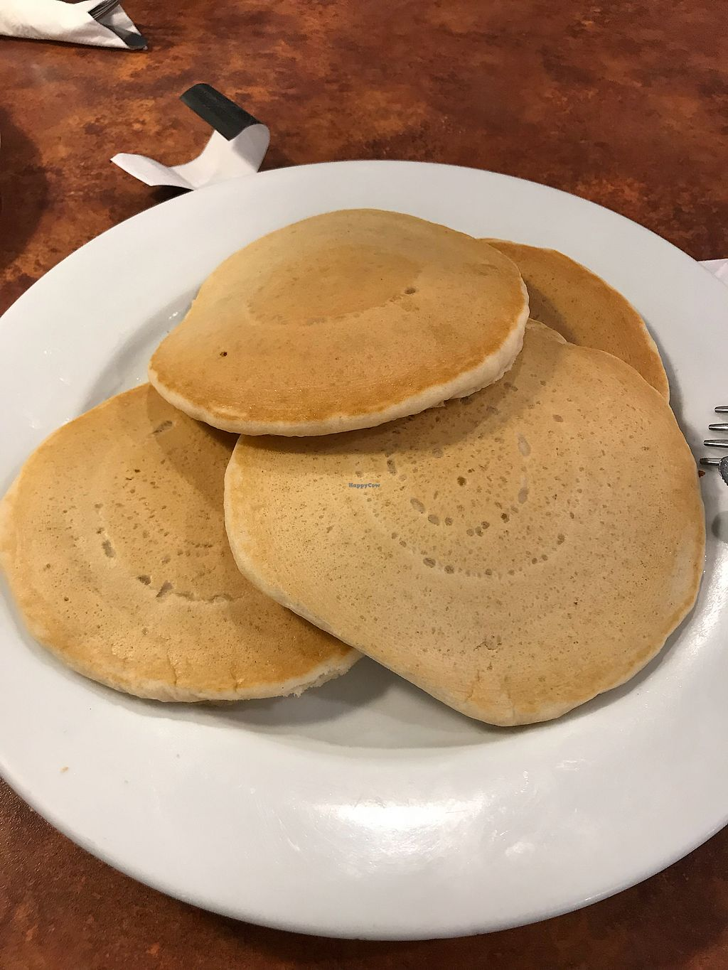"Photo of Maywood Pancake House  by <a href=""/members/profile/Lucipurrr"">Lucipurrr</a> <br/>Vegan Pancakes <br/> April 15, 2018  - <a href='/contact/abuse/image/58273/386334'>Report</a>"