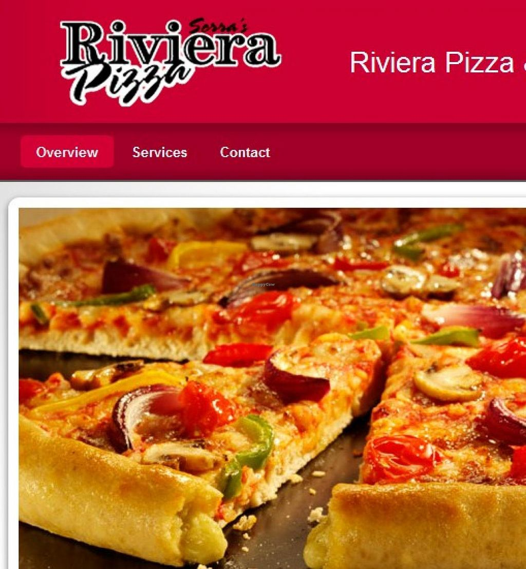 "Photo of Riviera Pizza  by <a href=""/members/profile/community"">community</a> <br/>Riviera Pizza <br/> May 11, 2015  - <a href='/contact/abuse/image/58281/101927'>Report</a>"