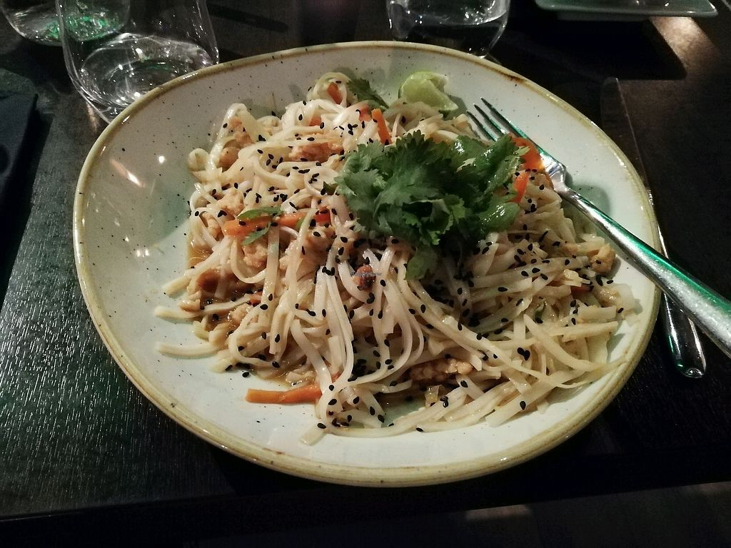 """Photo of Wokhouse  by <a href=""""/members/profile/LenaMarie"""">LenaMarie</a> <br/>pad thai vegan with soy meat <br/> February 1, 2018  - <a href='/contact/abuse/image/58295/353719'>Report</a>"""