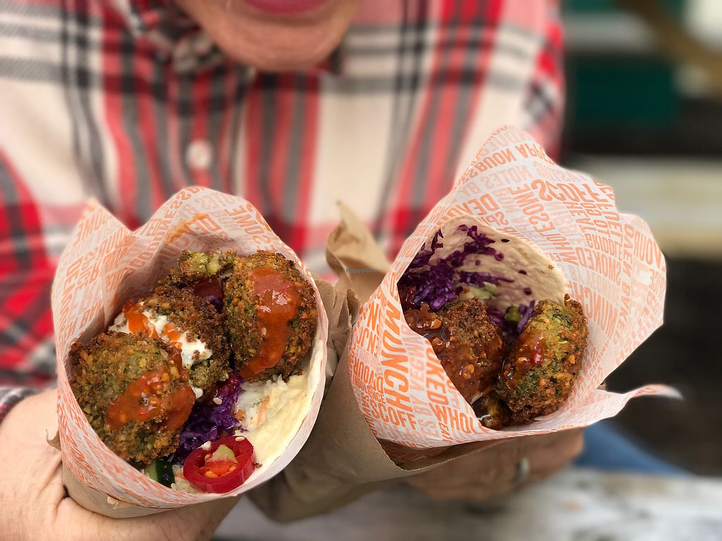 "Photo of CLOSED: Good2Go - Food Trailer  by <a href=""/members/profile/Weds"">Weds</a> <br/>Amazing vegan spicy falafel wraps!!  <br/> August 9, 2017  - <a href='/contact/abuse/image/58322/290878'>Report</a>"