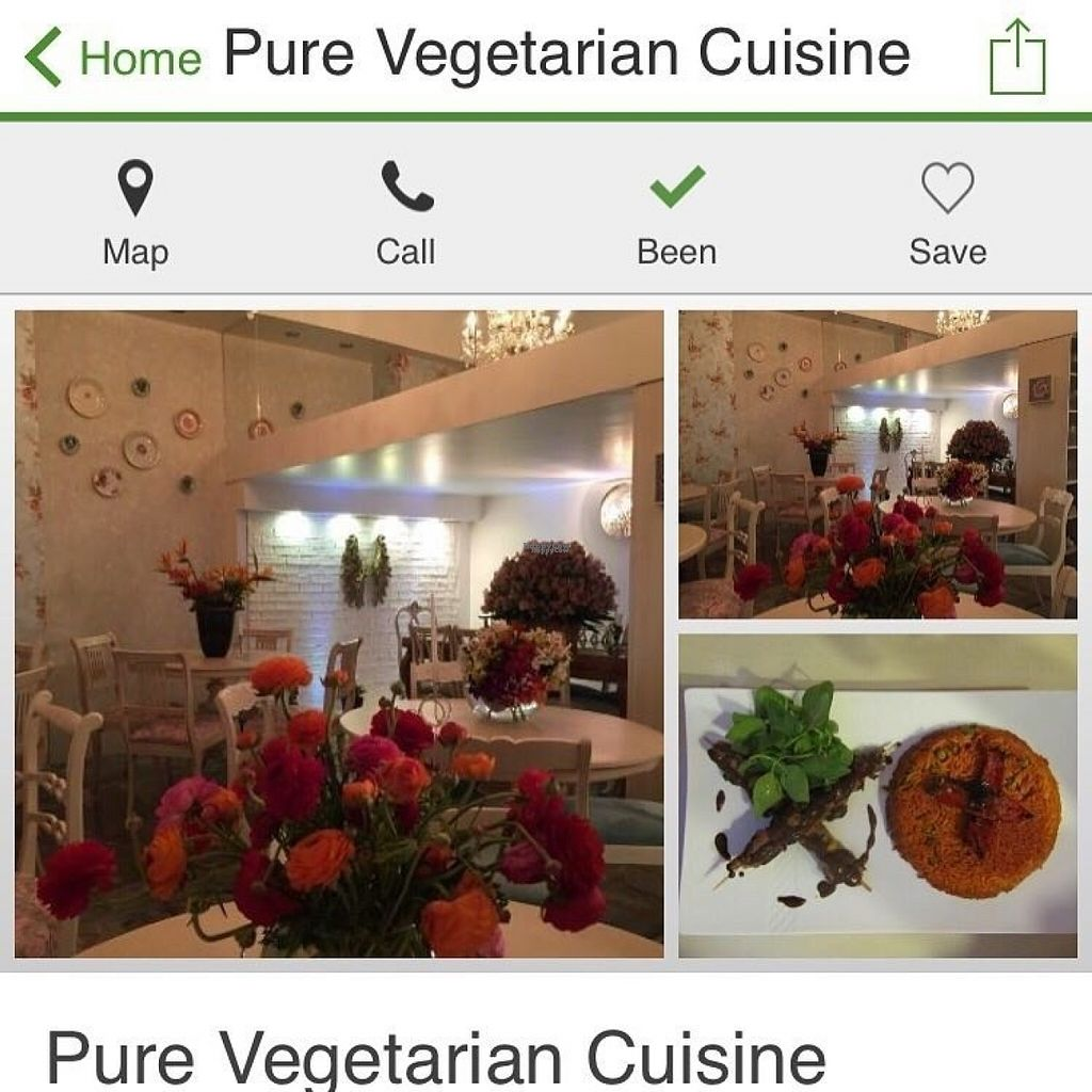 """Photo of Pure Vegetarian Cuisine  by <a href=""""/members/profile/b_montazeri"""">b_montazeri</a> <br/>Pure vegetarian cafe & restaurant  <br/> November 5, 2016  - <a href='/contact/abuse/image/58341/186680'>Report</a>"""