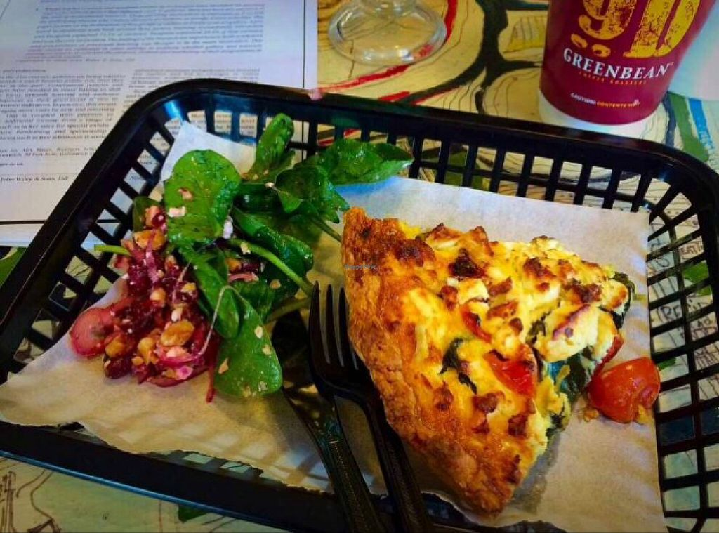 """Photo of Bread and Banjo Bakery  by <a href=""""/members/profile/CiaraSlevin"""">CiaraSlevin</a> <br/>quiche  <br/> August 15, 2015  - <a href='/contact/abuse/image/58353/113664'>Report</a>"""