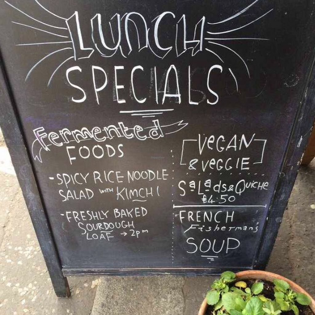 """Photo of Bread and Banjo Bakery  by <a href=""""/members/profile/CiaraSlevin"""">CiaraSlevin</a> <br/>lunch specials  <br/> August 15, 2015  - <a href='/contact/abuse/image/58353/113666'>Report</a>"""