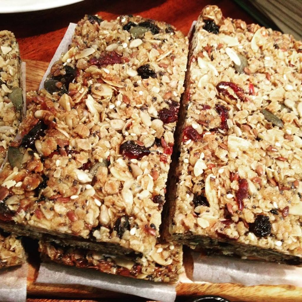 """Photo of Bread and Banjo Bakery  by <a href=""""/members/profile/gingergrace"""">gingergrace</a> <br/>Granola bars filled with flavor!  <br/> September 19, 2015  - <a href='/contact/abuse/image/58353/118407'>Report</a>"""