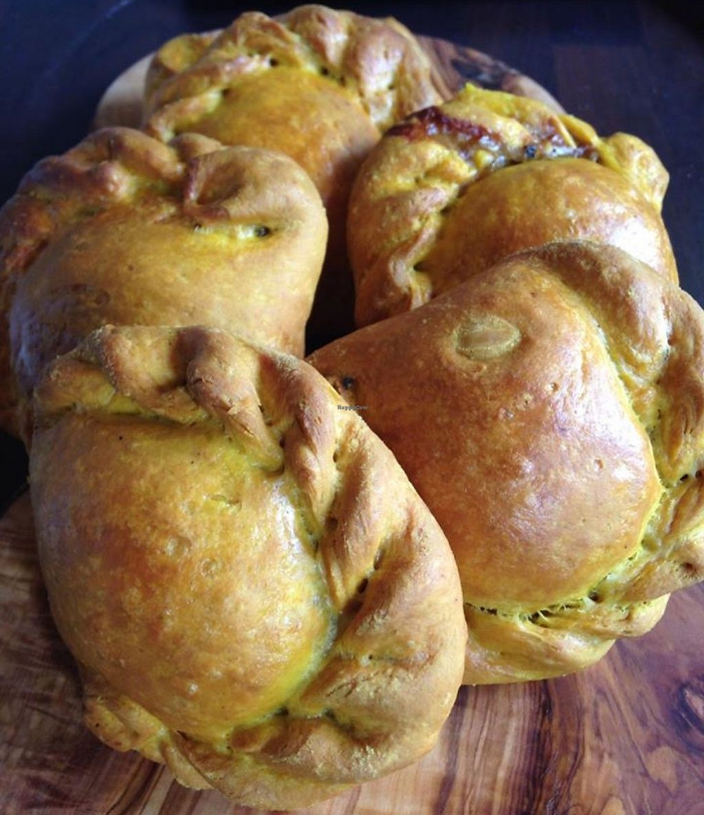 """Photo of Bread and Banjo Bakery  by <a href=""""/members/profile/gingergrace"""">gingergrace</a> <br/>Vegan Malaysian Curry Puffs!  <br/> September 19, 2015  - <a href='/contact/abuse/image/58353/240265'>Report</a>"""