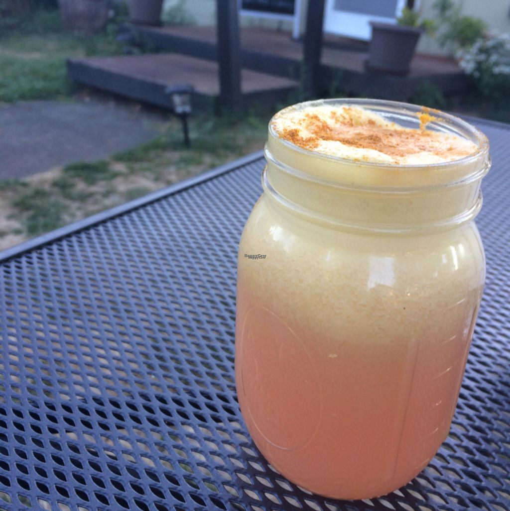 "Photo of La Vida Veggie  by <a href=""/members/profile/Brizzy09"">Brizzy09</a> <br/>turmeric, ginger, lemon fresh juice <br/> August 8, 2016  - <a href='/contact/abuse/image/58366/166964'>Report</a>"