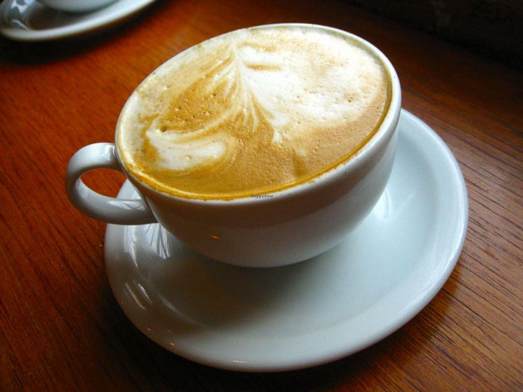 "Photo of Charmington's  by <a href=""/members/profile/alv410"">alv410</a> <br/>This is a *soy* cappuccino from Charmington's.  <br/> May 13, 2015  - <a href='/contact/abuse/image/58379/102111'>Report</a>"