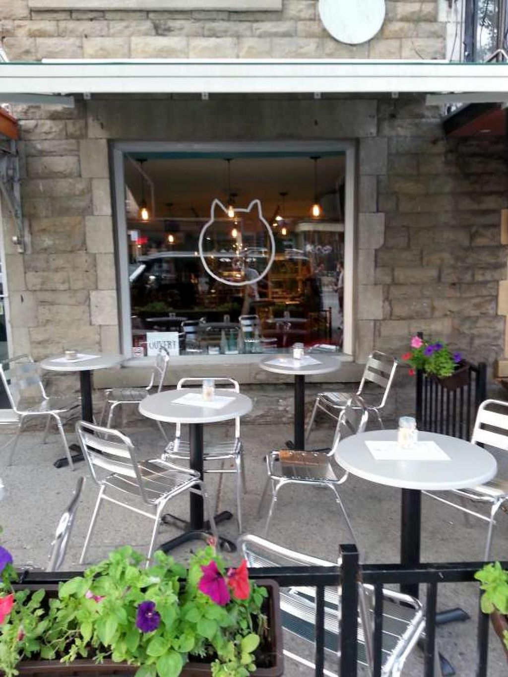 """Photo of CLOSED: Venosa Cafe  by <a href=""""/members/profile/yupsate"""">yupsate</a> <br/>The front terrace of Cafe Venosa <br/> July 8, 2015  - <a href='/contact/abuse/image/58382/108561'>Report</a>"""