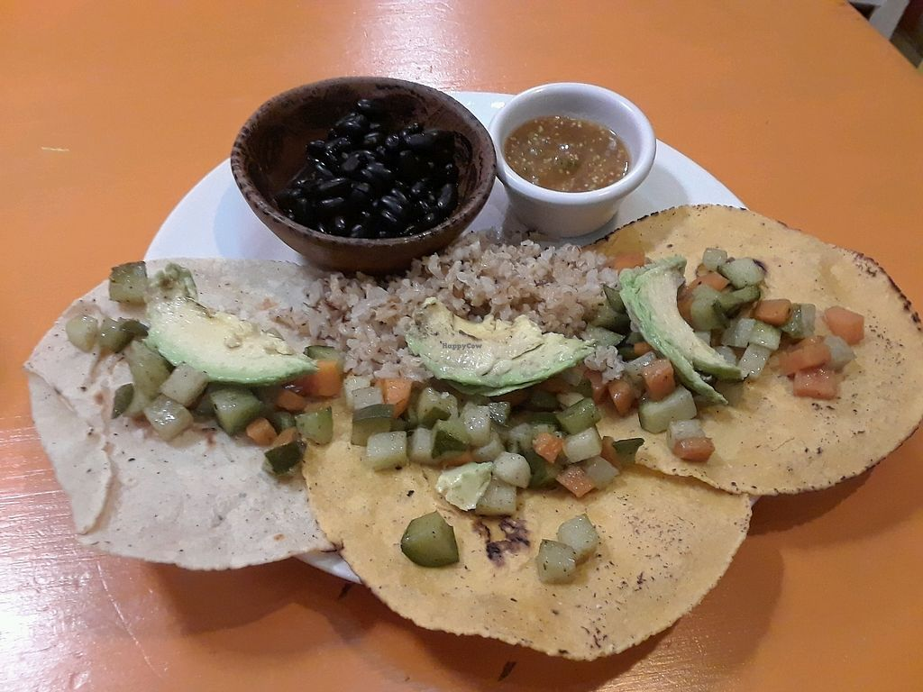 """Photo of Delicias Naturales  by <a href=""""/members/profile/Yona"""">Yona</a> <br/>tacos not on the menu but the owner will make you whatever you like <br/> December 7, 2017  - <a href='/contact/abuse/image/58417/333255'>Report</a>"""