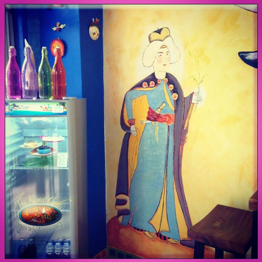 Photo of The Kismet Cafe  by ywinq108 <br/>THE KISMET CAFE & WELLNESS MARKET in the heart of Makati City. What is KISMET?   /ˈkɪz.mɛt/, /ˈkɪs.mɛt/ n. from the Turkish kısmet, from Arabic qismä; 'fate', 'a predetermined or unavoidable destiny']  <br/> May 15, 2015  - <a href='/contact/abuse/image/58429/102269'>Report</a>