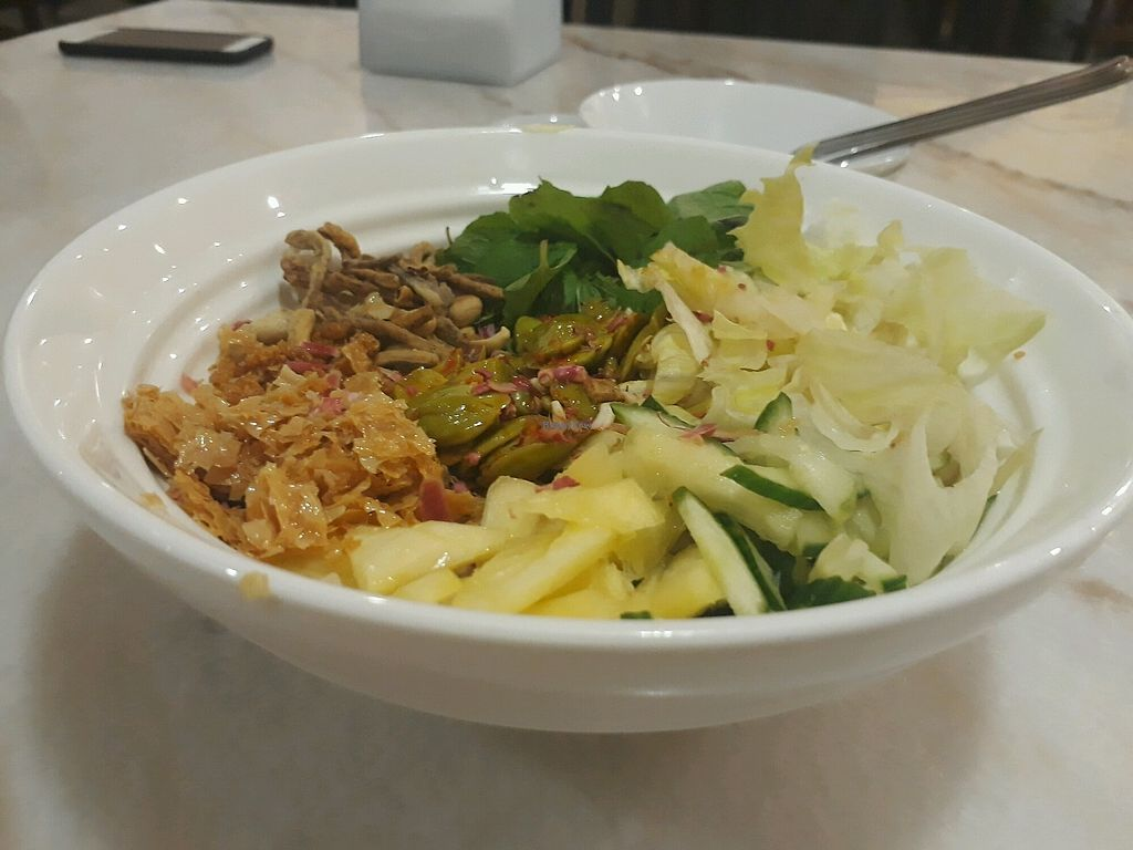 "Photo of Yun Shan Ge Vegetarian House - Penang St  by <a href=""/members/profile/LilacHippy"">LilacHippy</a> <br/>Petai Salad <br/> October 28, 2017  - <a href='/contact/abuse/image/58432/319607'>Report</a>"