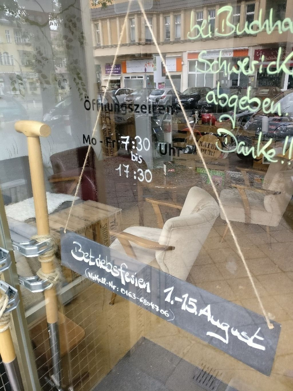 """Photo of Kawa Cafe-Deli  by <a href=""""/members/profile/kalina8877"""">kalina8877</a> <br/>Updated open hours + owner's holiday  <br/> August 2, 2016  - <a href='/contact/abuse/image/58433/164440'>Report</a>"""
