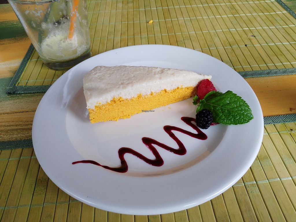 "Photo of EcoCentro - temporarily closed  by <a href=""/members/profile/Meibluemoon"">Meibluemoon</a> <br/>Raw carrot cake, 7 euros small portion <br/> October 3, 2015  - <a href='/contact/abuse/image/58441/119980'>Report</a>"
