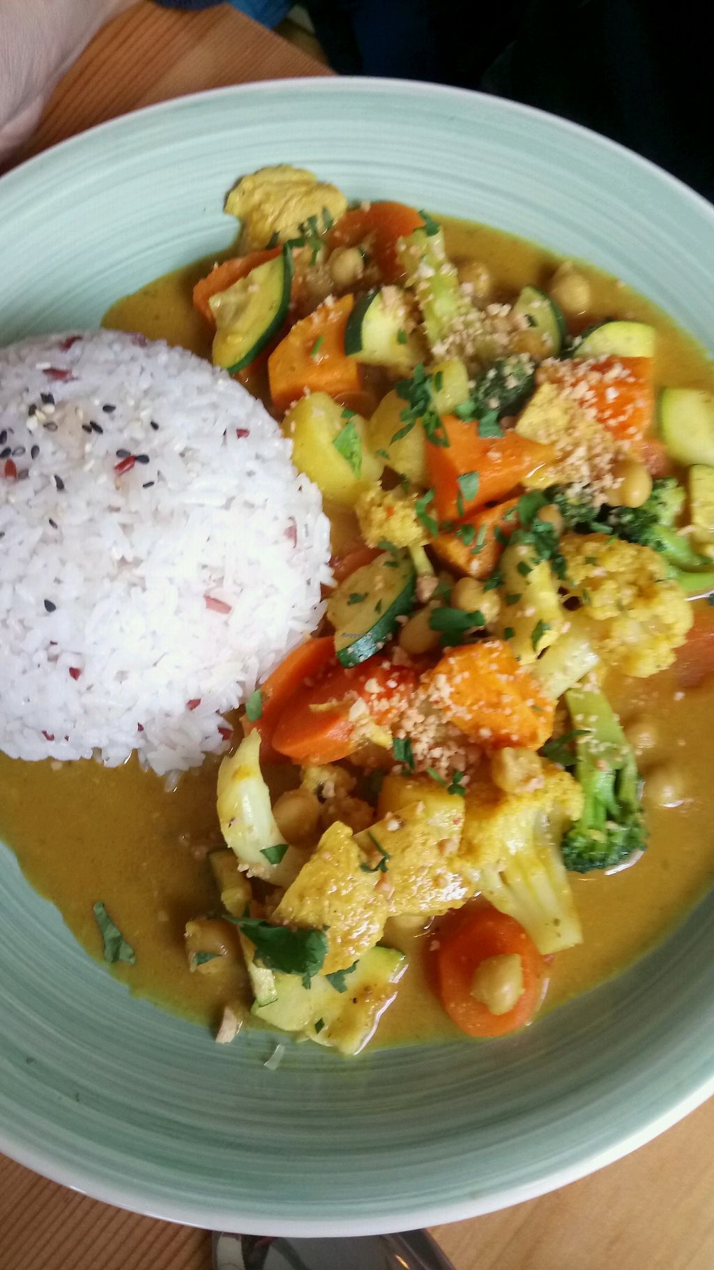 """Photo of Loving Hut  by <a href=""""/members/profile/Shama2004"""">Shama2004</a> <br/>coconut Thai curry <br/> March 25, 2018  - <a href='/contact/abuse/image/58464/375996'>Report</a>"""