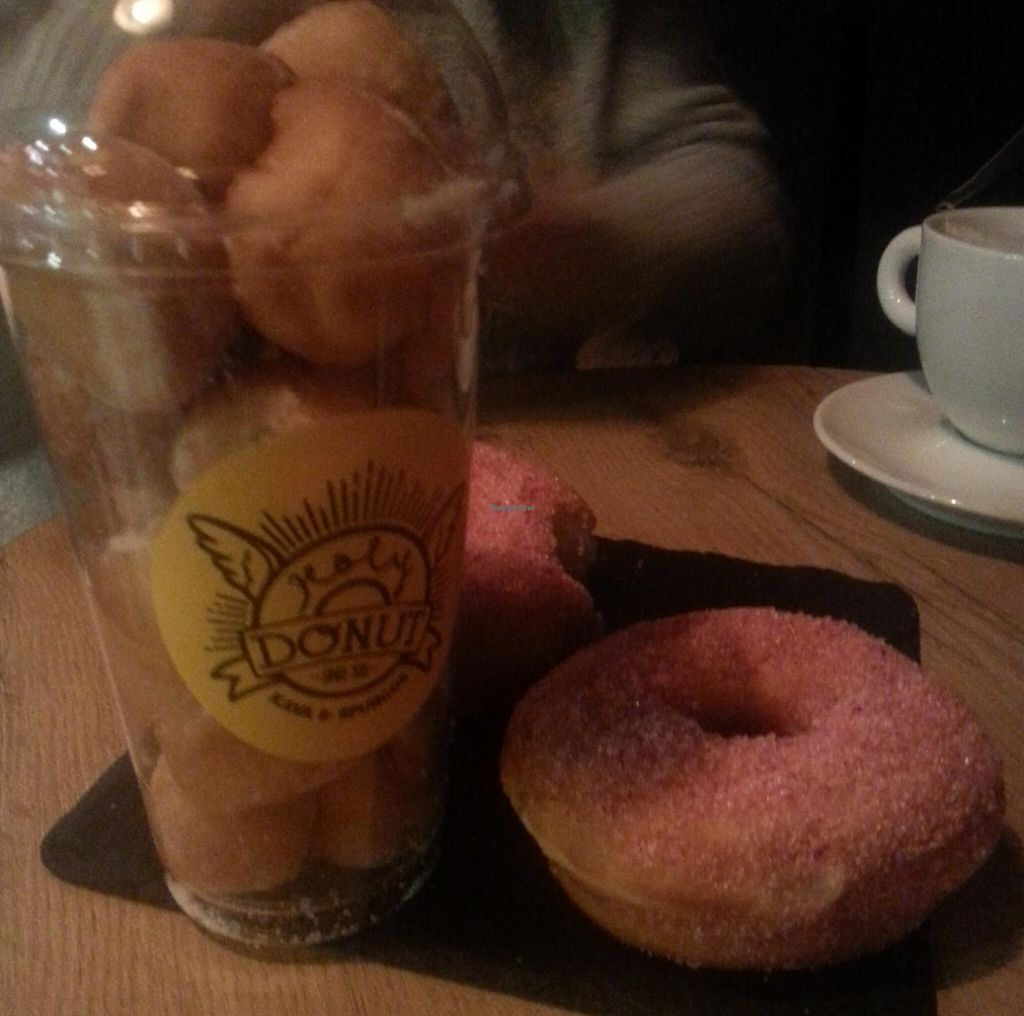 """Photo of Holy Donut  by <a href=""""/members/profile/MichelleHibbitts"""">MichelleHibbitts</a> <br/>A cup of mini donuts! <br/> November 29, 2015  - <a href='/contact/abuse/image/58470/238046'>Report</a>"""