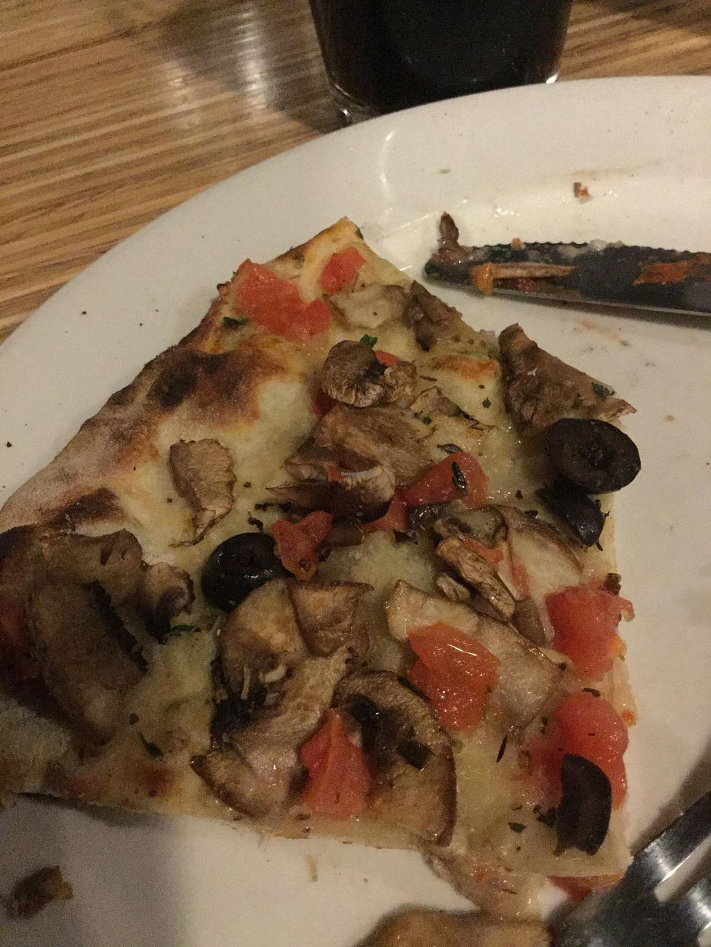 "Photo of Veraci Pizza  by <a href=""/members/profile/J%20and%20J"">J and J</a> <br/>Awesome cheese less vegan pizza <br/> January 30, 2016  - <a href='/contact/abuse/image/58476/134262'>Report</a>"