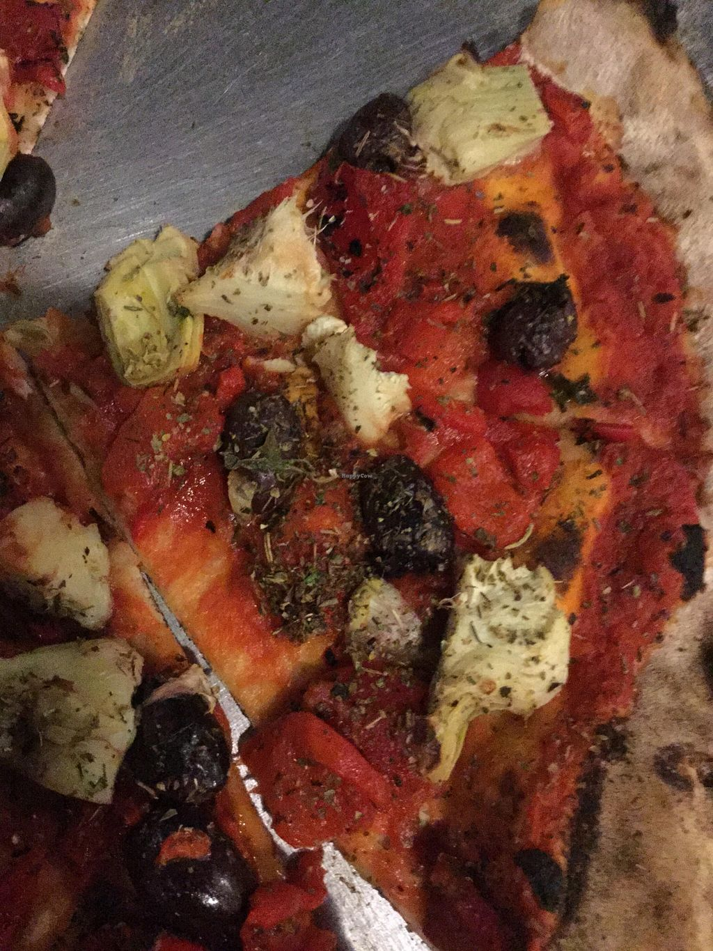 "Photo of Veraci Pizza  by <a href=""/members/profile/J%20and%20J"">J and J</a> <br/>Awesome vegan pizza <br/> January 30, 2016  - <a href='/contact/abuse/image/58476/134264'>Report</a>"