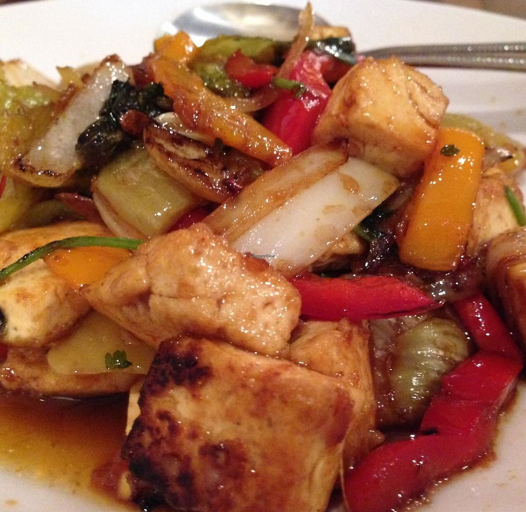 """Photo of A Taste of Burma  by <a href=""""/members/profile/Alysoun%20Mahoney"""">Alysoun Mahoney</a> <br/>A Taste of Burma - Sterling VA - Tofu Pickled Mustard Green <br/> June 20, 2015  - <a href='/contact/abuse/image/58510/232760'>Report</a>"""