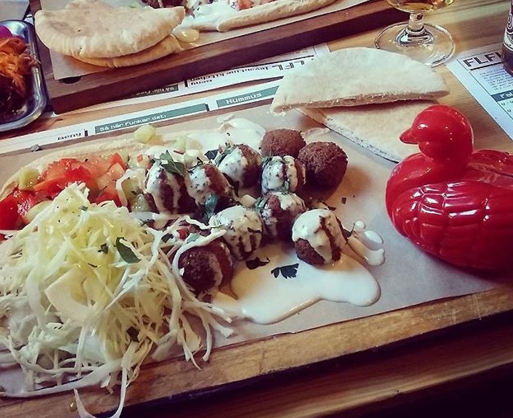 "Photo of FLFL Falafel and Hummus - Levantine Kitchen  by <a href=""/members/profile/falafelpunk"">falafelpunk</a> <br/>FLFL Original <br/> May 2, 2016  - <a href='/contact/abuse/image/58583/245945'>Report</a>"