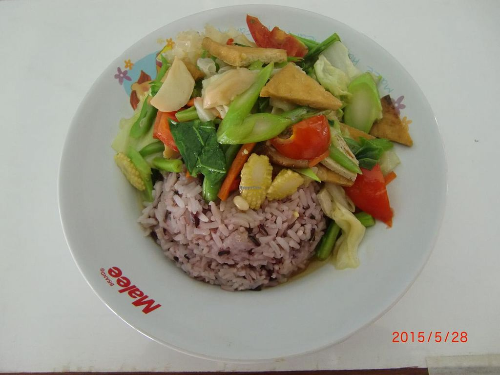"Photo of Kanjira  by <a href=""/members/profile/KitPhasuporn"">KitPhasuporn</a> <br/>Stir fried mix Veggie (Pad Pak Roam)