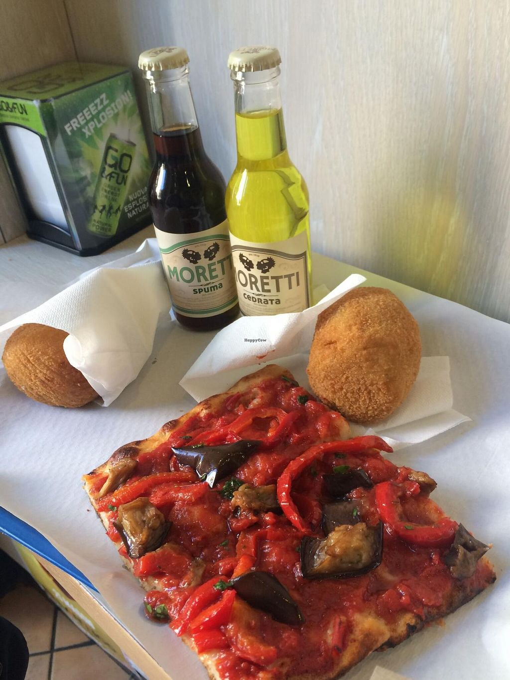 """Photo of Mondo Arancina  by <a href=""""/members/profile/mc1481"""">mc1481</a> <br/>Vegana & Mixed Vegetable arancini, amazing pizza.   <br/> May 26, 2015  - <a href='/contact/abuse/image/58593/103462'>Report</a>"""