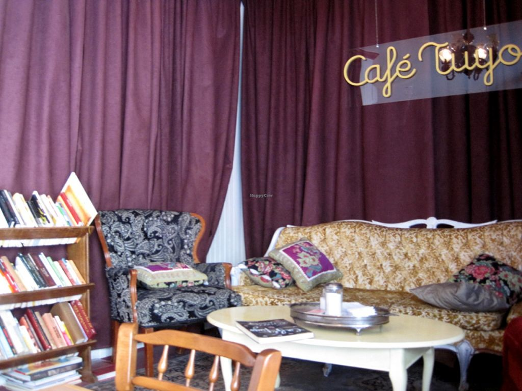 """Photo of Café Tuyo  by <a href=""""/members/profile/Babette"""">Babette</a> <br/>Inside <br/> May 7, 2016  - <a href='/contact/abuse/image/58596/147968'>Report</a>"""