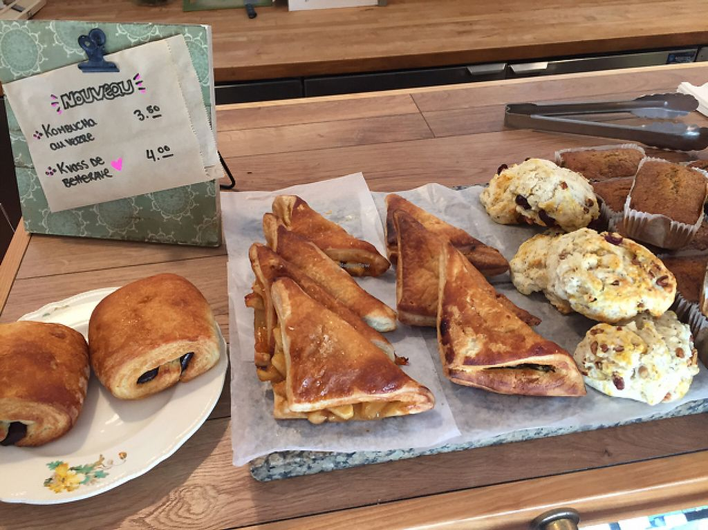 """Photo of Café Tuyo  by <a href=""""/members/profile/eatyourveggies"""">eatyourveggies</a> <br/>vegan pastries  <br/> May 20, 2017  - <a href='/contact/abuse/image/58596/260656'>Report</a>"""