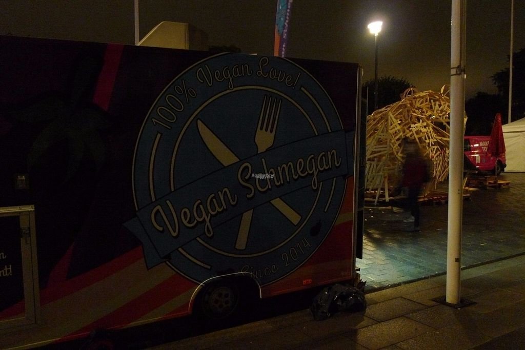 "Photo of Vegan Schmegan - Food Truck  by <a href=""/members/profile/MichaelaSoprova"">MichaelaSoprova</a> <br/>food truck in the night :) <br/> August 27, 2016  - <a href='/contact/abuse/image/58619/171838'>Report</a>"