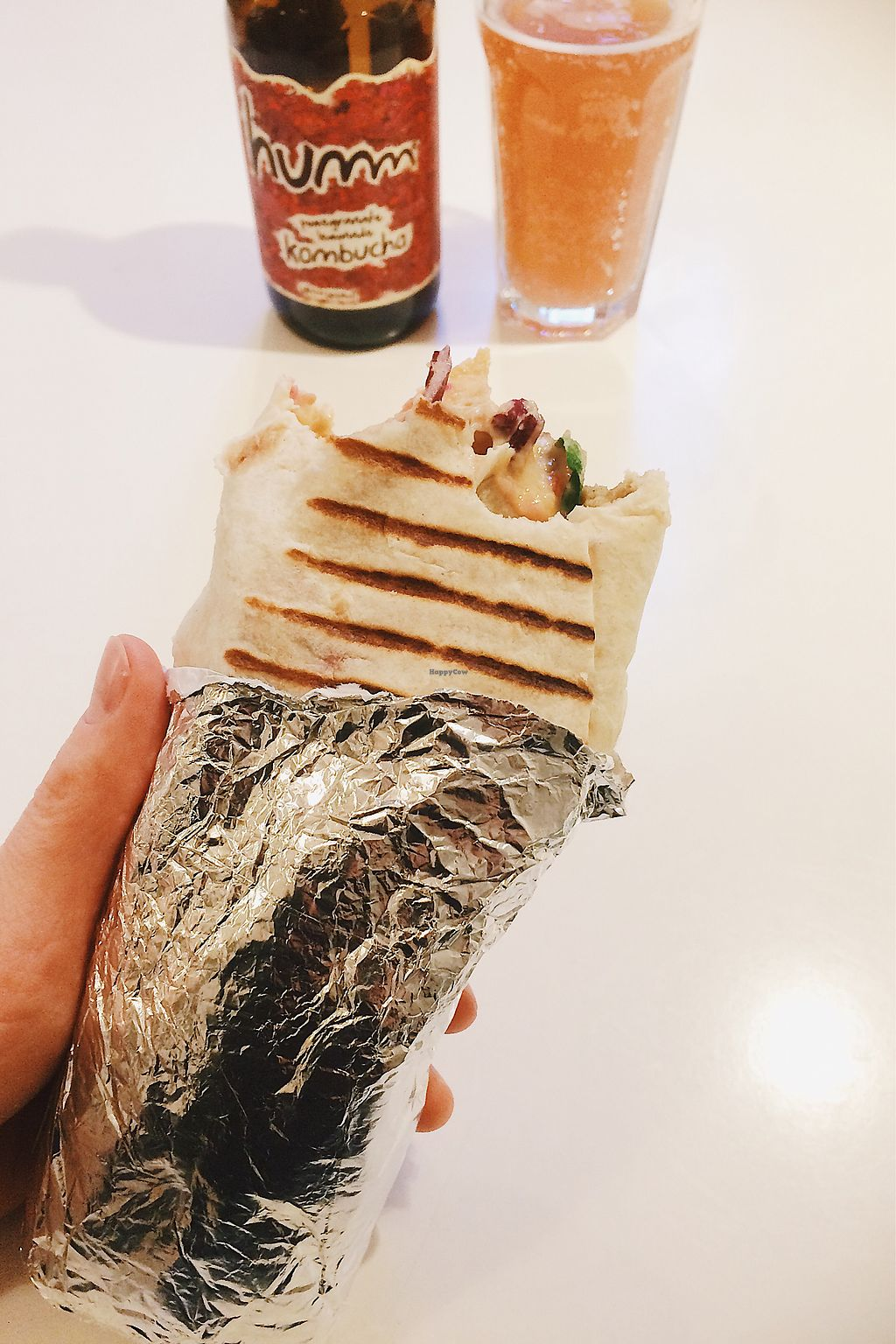 "Photo of Vegan Schmegan - Food Truck  by <a href=""/members/profile/treemelody"">treemelody</a> <br/>Super Vego Wrap <br/> January 5, 2018  - <a href='/contact/abuse/image/58619/343255'>Report</a>"